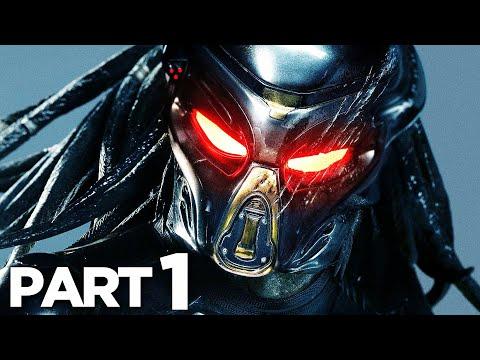 Predator Hunting Grounds Walkthrough Gameplay Part 1 Intro Full Game Youtube Predator Hunting Full Games Predator