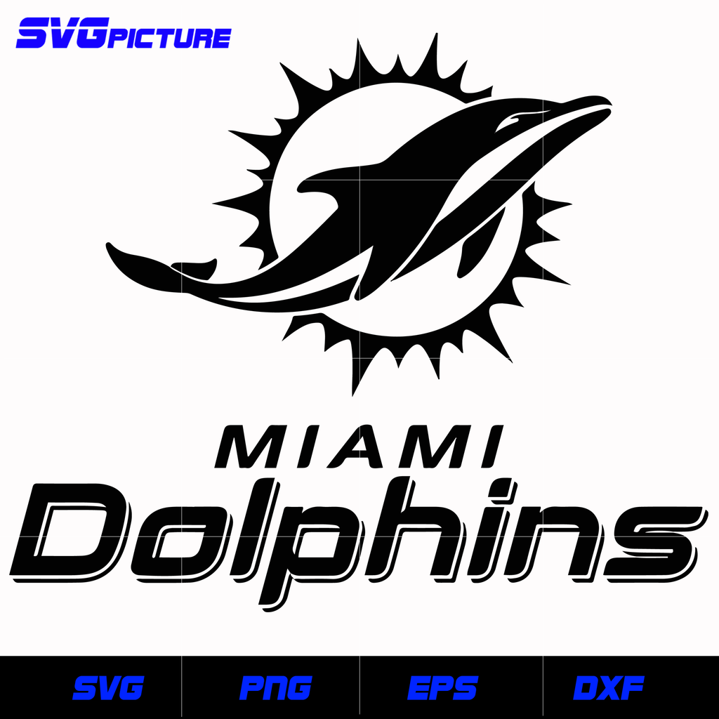 Miami Dolphins Logo Svg Nfl Svg Eps Dxf Png Digital File Svgpicture Miami Dolphins Logo Dolphins Logo Miami Dolphins