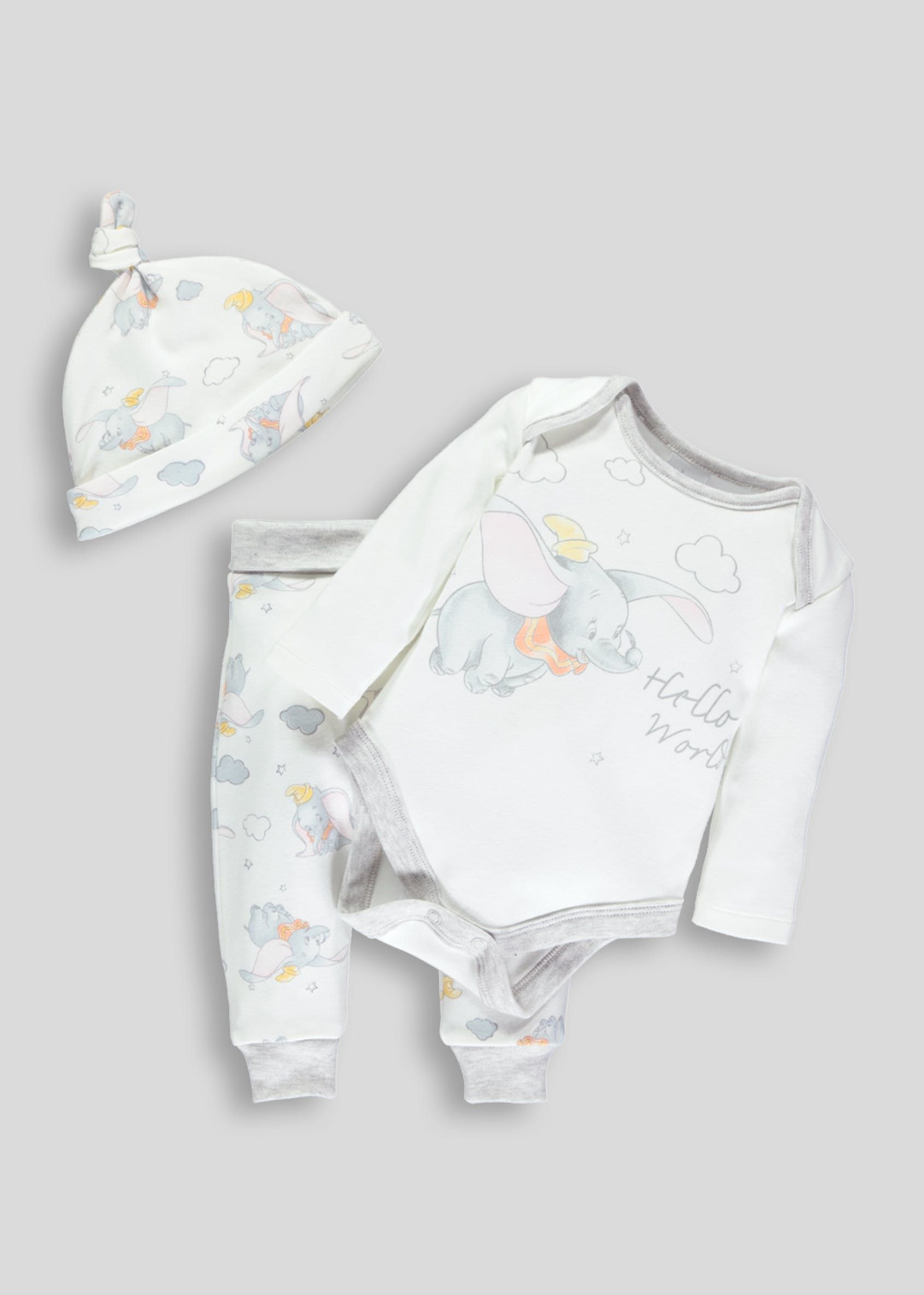 7f32da52601d Unisex 3 Piece Disney Dumbo Gift Set (Newborn-9mths)