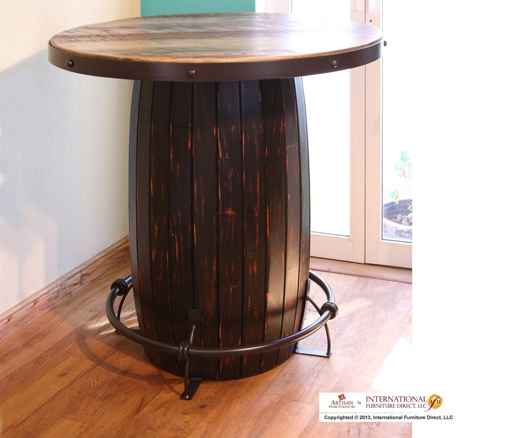 Http Www Int Furndirect Com Product Php Producto Id 214 B Bistro Table Base 27 1 2 X 27 1 2 X 39 Ifd967bistr Barrel Table Furniture Nebraska Furniture Mart