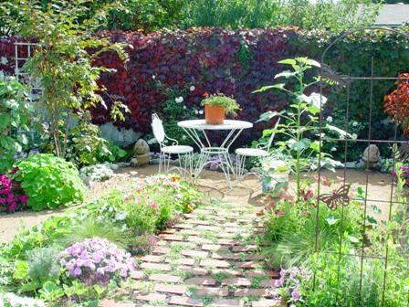 Backyard Redo Cottage Garden Patio Cottage Garden Garden Design