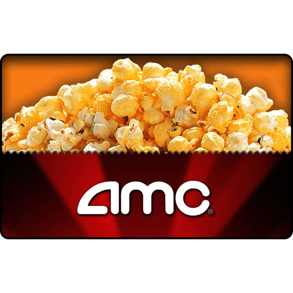 Details about amc theatres gift card 25 35 50 or 100
