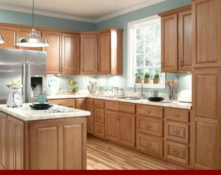 The ABC's of - dark grey stained oak cabinets. # ...
