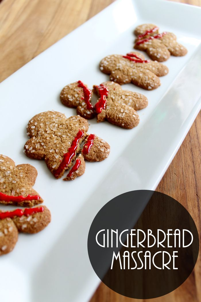 Halloween Gingerbread Men Recipe Halloween foods, Halloween food - halloween catering ideas