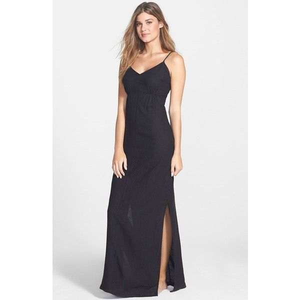 Womens Solow Loop Back Maxi Dress Cover Up 93 Liked On