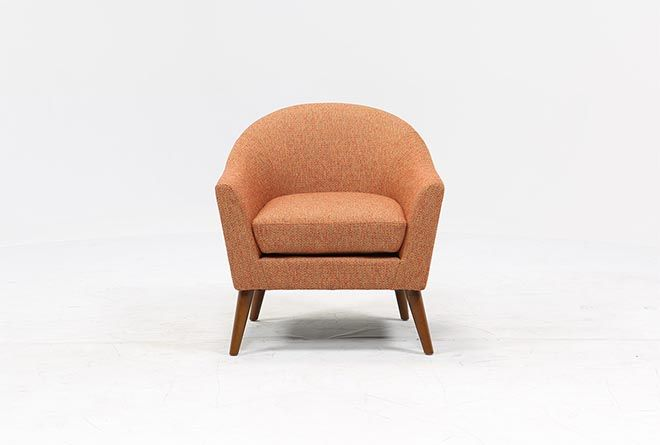Fabulous Finn Chili Accent Chair Living Spaces Purchase Accent Unemploymentrelief Wooden Chair Designs For Living Room Unemploymentrelieforg