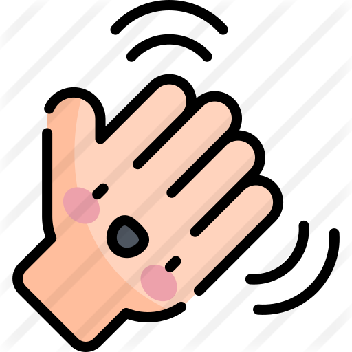 Waving Hand Animated Clipart Mood Gif Animated Emoticons
