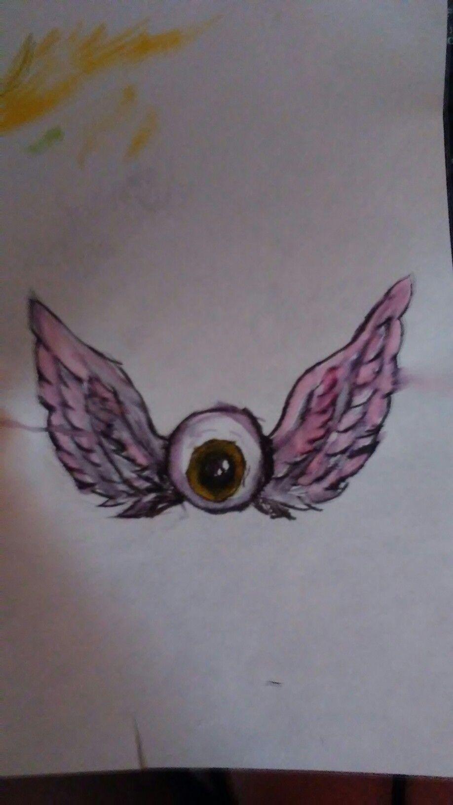 Eyeball With Wings Tattoo : eyeball, wings, tattoo, Eyeball, Animal, Tattoo,, Tattoo, Inspiration,, Wings