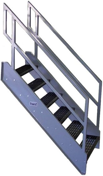 Best Prefab Stairs From Fsi Industries In 2020 Prefab Stairs Metal Stairs Prefab 640 x 480