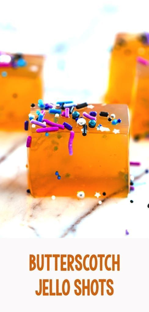 Butterscotch Jello Shots #jelloshots Butterscotch Jello Shots -- Jello shots just got a whole lot classier! These Butterscotch Jello Shots are the a delicious adult jello shot perfect for any party in need of a little extra fun | wearenotmartha.com #jelloshots #butterscotch #party #newyears #jelloshotrecipes Butterscotch Jello Shots #jelloshots Butterscotch Jello Shots -- Jello shots just got a whole lot classier! These Butterscotch Jello Shots are the a delicious adult jello shot perfect for an #halloweenjelloshots