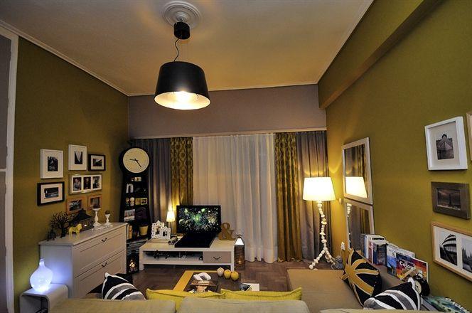 Ruang Tamu Kuning Keemasan Idea Pengguna Ikea Di Greece Ekspresiruang Grease