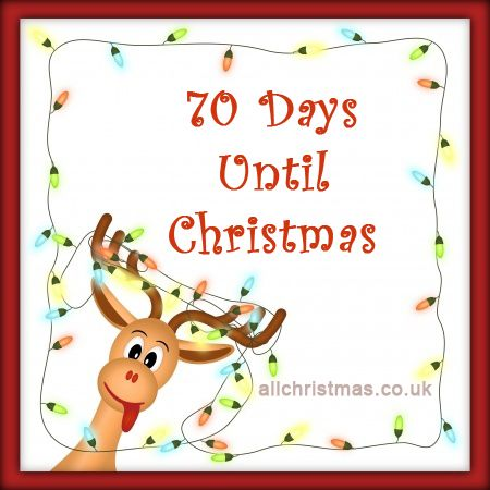 Days Till Christmas Uk.70 Days Until Christmas All Christmas Blog Christmas