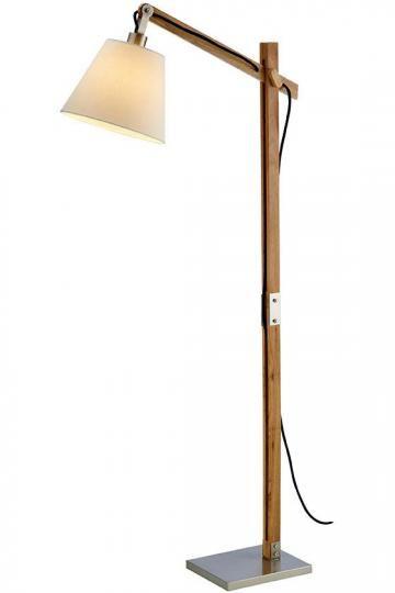 Walden Floor Lamp Wood Floor Lamps Adjustable Floor Lamps
