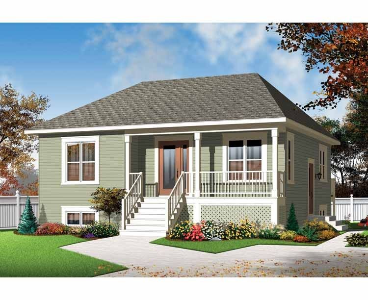 Country House Plan With 973 Square Feet And 2 Bedrooms From Dream Home Source House Plan Code Dhsw Cottage Plan Cottage House Plans Country Style House Plans