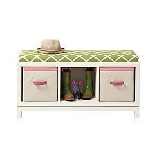 Surprising Campaign Storage Bench White Neat Projects Playroom Evergreenethics Interior Chair Design Evergreenethicsorg