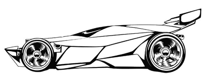 Race Car Coloring Pages Race