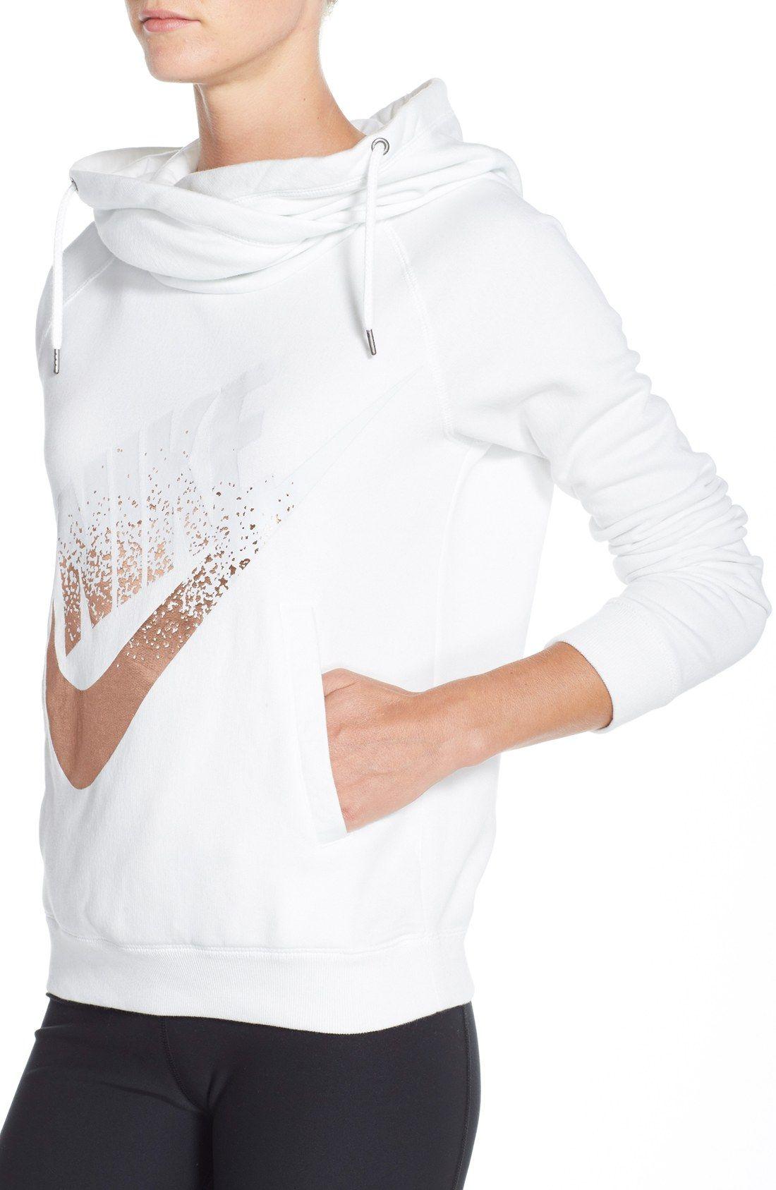 Nike 'Rally' Foiled Logo Hoodie