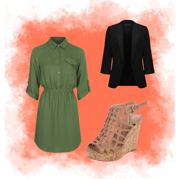 A fashion look from March 2015 featuring Topshop dresses, Forever New blazers and Charles by Charles David sandals. Browse and shop related looks.