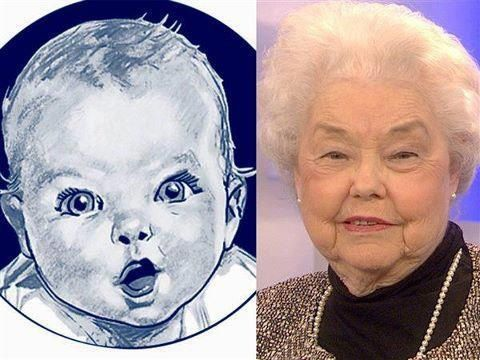 The Gerber Baby Then And Now With Images Gerber Baby Gerber