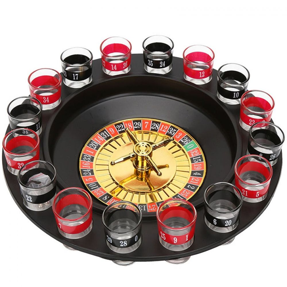 Deluxe Spinning Roulette Drinking Game (With images