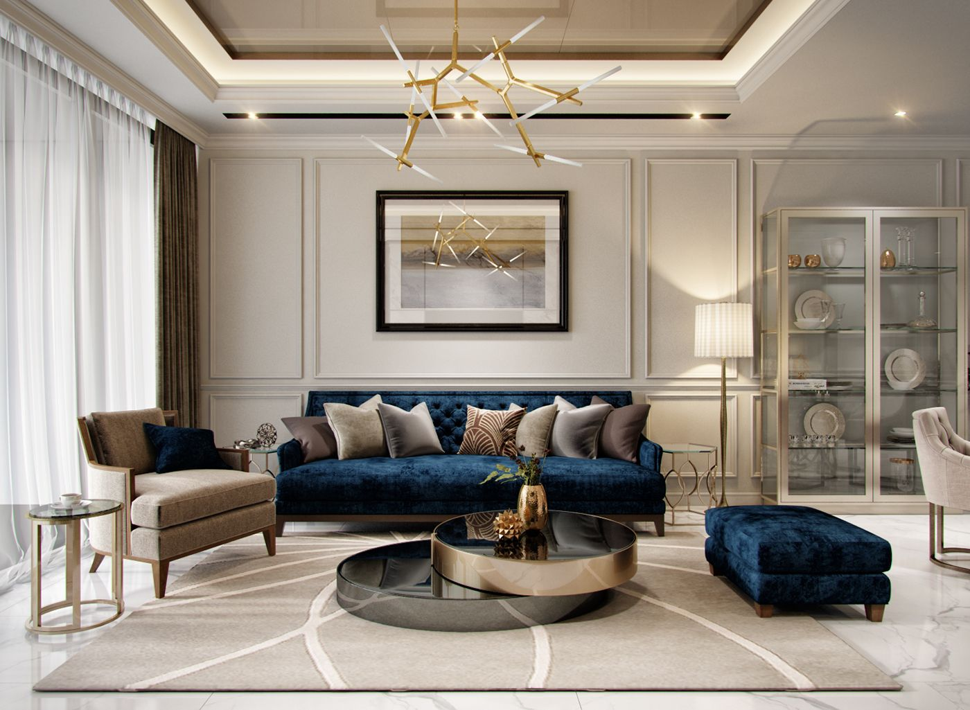 Apartment 100 M2 Luxury Living Room Luxury Home Decor Interior
