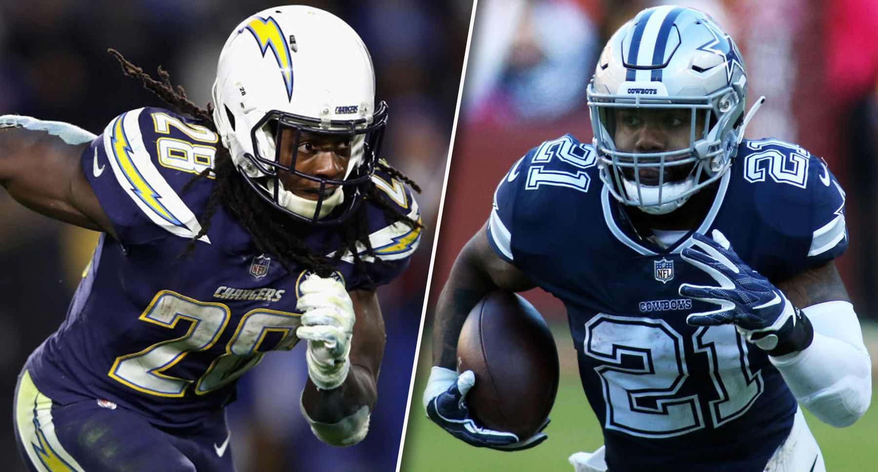 Nfl Rumors Melvin Gordon Trying To Copy Ezekiel Elliot Deal Is Bad For Fantasy Football Owners Ezekiel Elliot Fantasy Football Fantasy Football Players