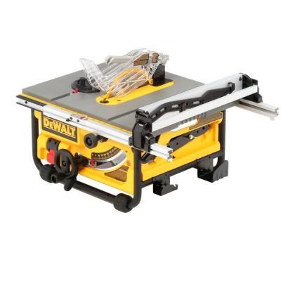 Dewalt 15 Amp Corded 10 In Compact Job Site Table Saw With Site Pro Modular Guarding System Dw745 Jobsite Table Saw Table Saw Portable Table Saw