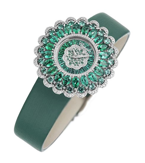 Precious collection emerald watches by Chopard