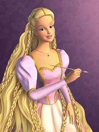 Hasil Gambar Untuk Barbie Rapunzel Rapunzel Barbie Gambar