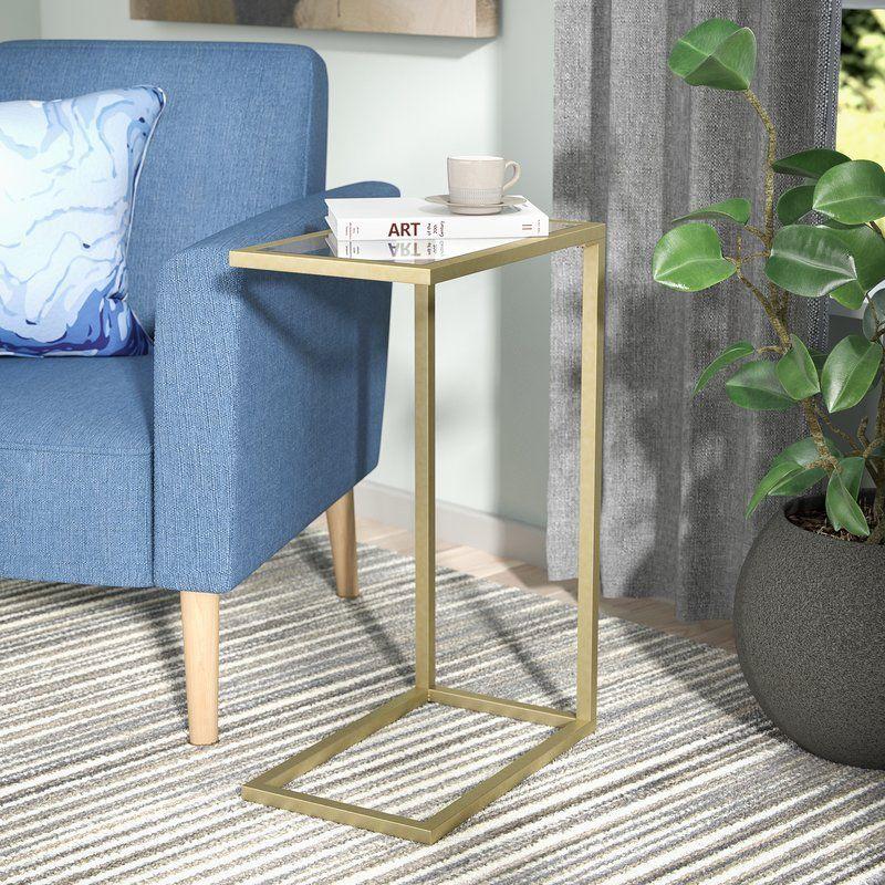 Castillo End Table Modern Furniture Living Room Oak Side Table Modern End Tables