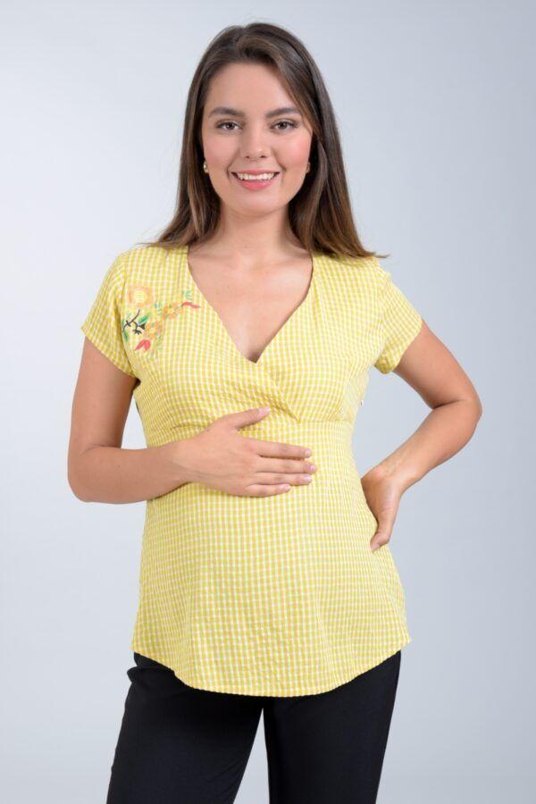Blusas De Moda Para Embarazadas Blusas De Embarazada Ropa De Maternidad Ropa Bonita Para Embarazadas