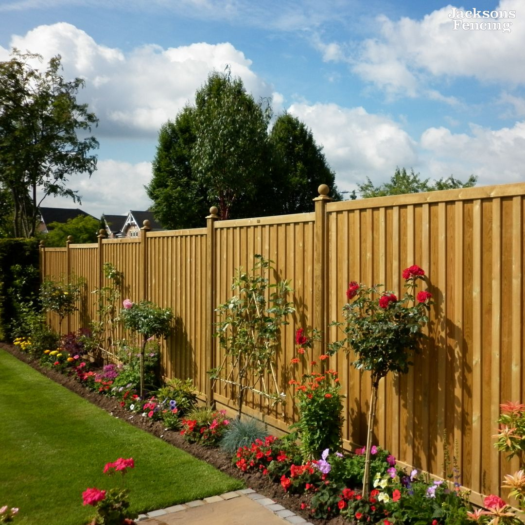 Chilham Double Sided Fence Panels | Garden design