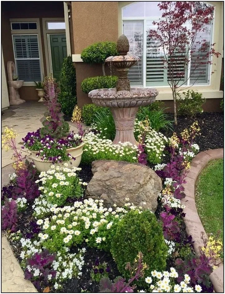 105 amazing front yard landscaping ideas to make your home on awesome backyard garden landscaping ideas that looks amazing id=18556