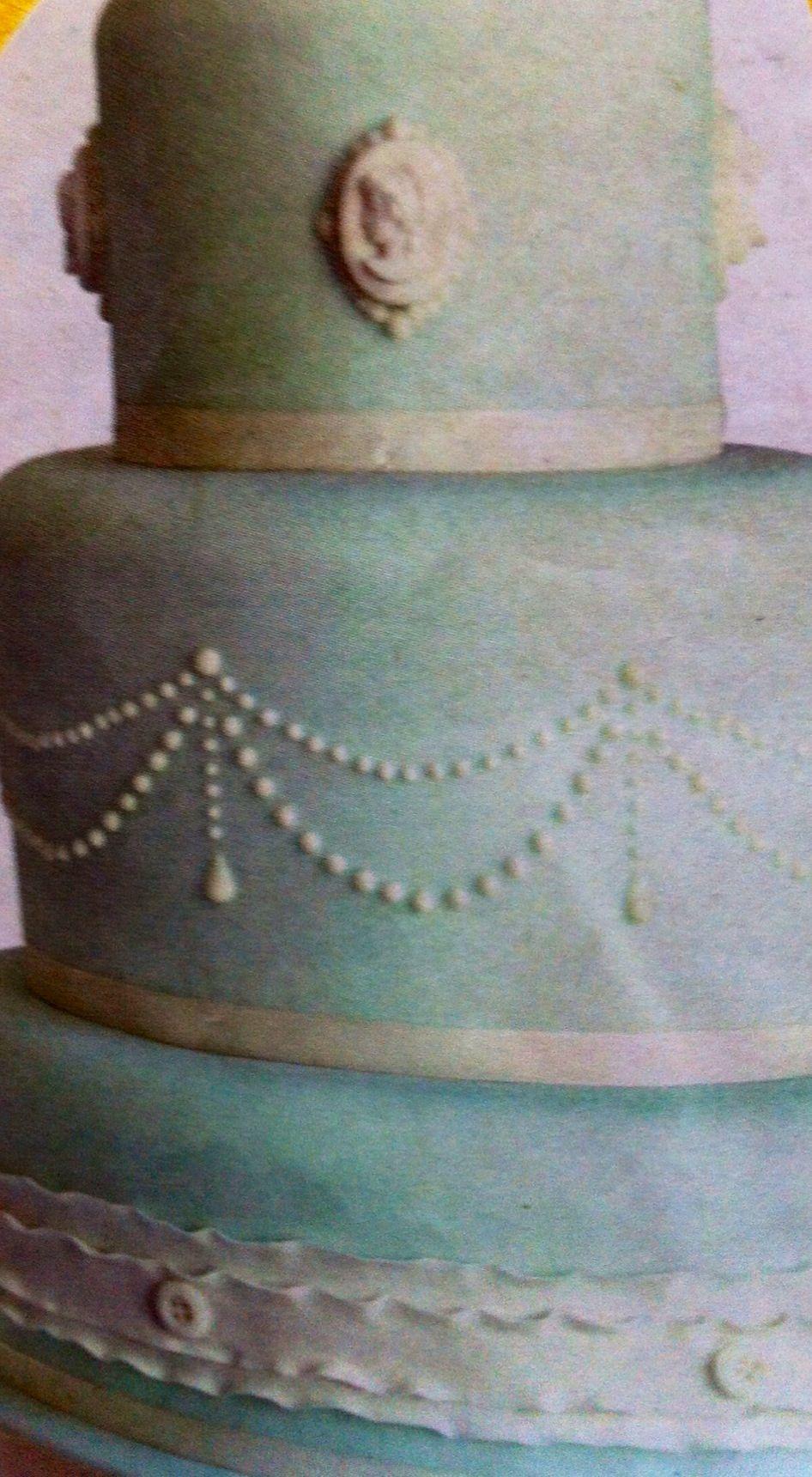 Cake with jewel design cake wedding jewels
