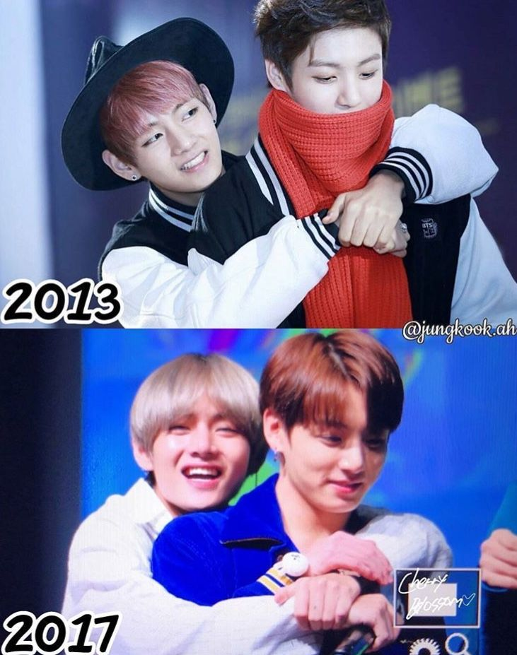 Taekook through the years | Everything you need in the