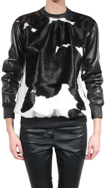 Givenchy Faux Pony Sweatshirt