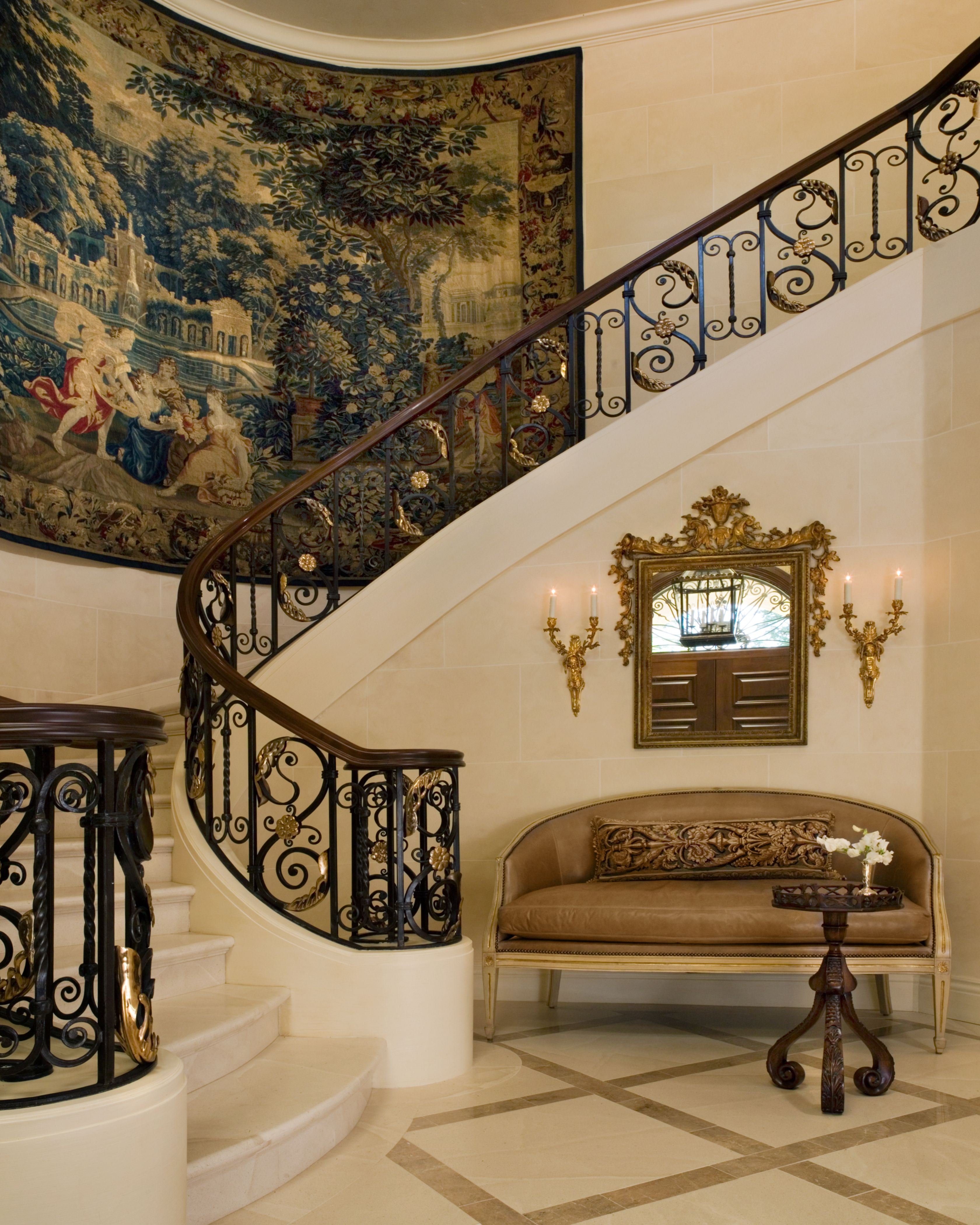 Grand Foyer Staircase: By Jane: Grand Staircase #luxury #design