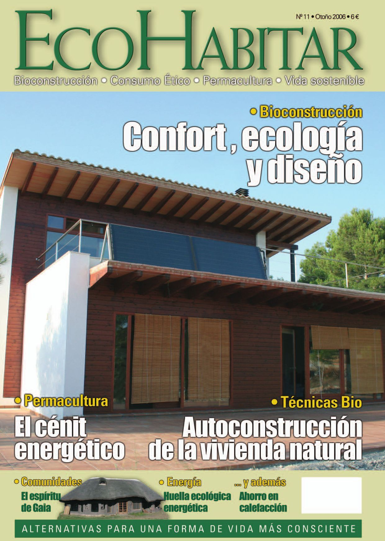 Ecohabitar 11 oto o 2006 literatura dise o y jardiner a for Arquitectura sustentable pdf