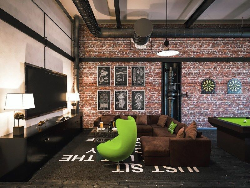 Create An Awesome Home Game Room With These 26 Ideas Small Apartment Living Room Game Room Apartment Living Room