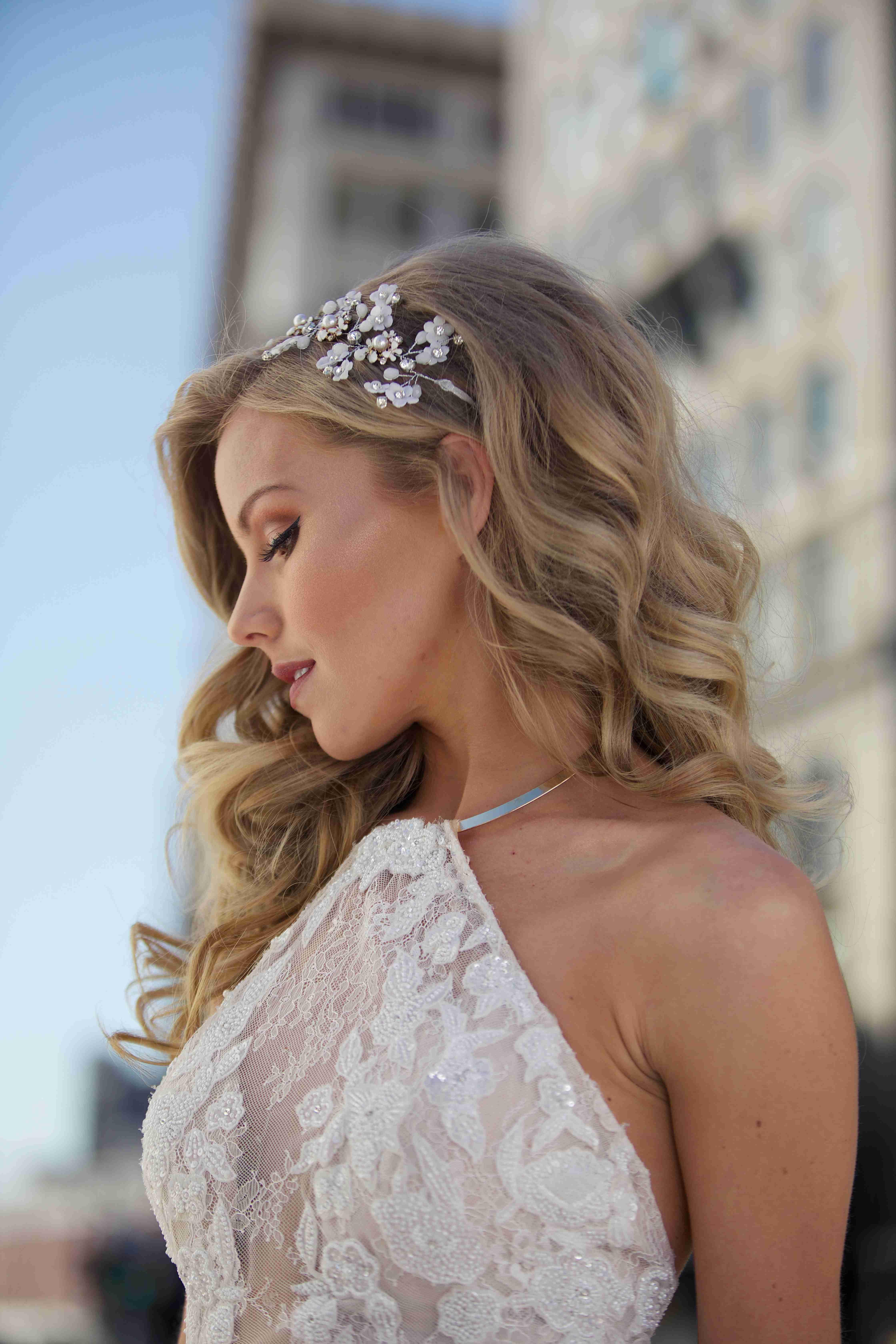 Carina Daisy Hair Crown In 2019 | Wedding Hairstyles, Crown