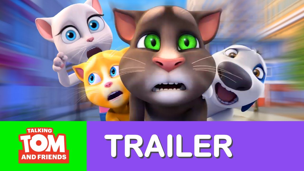 Talking Tom And Friends More Action New Episodes Trailer Talking Tom Friends Season You Are Cute