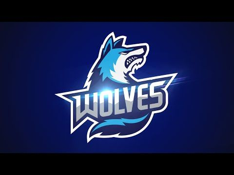 Adobe Illustrator Cc Tutorial Design E Sports Sports Logo For Your Team Wolves Logo Youtube Sports Logo Sports Logo Design Sports Team Logos