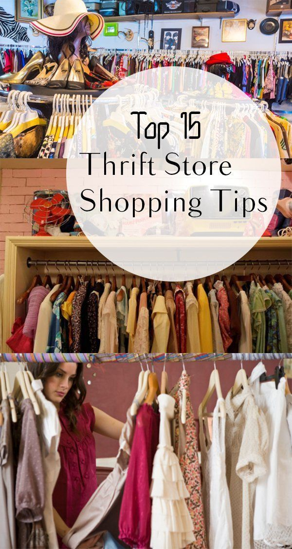 Top 15 Thrift Store Shopping Tips #thriftstorefinds Make the most of your thrift store shopping with these tips! #thriftstoreupcycle Top 15 Thrift Store Shopping Tips #thriftstorefinds Make the most of your thrift store shopping with these tips! #thriftstorefinds