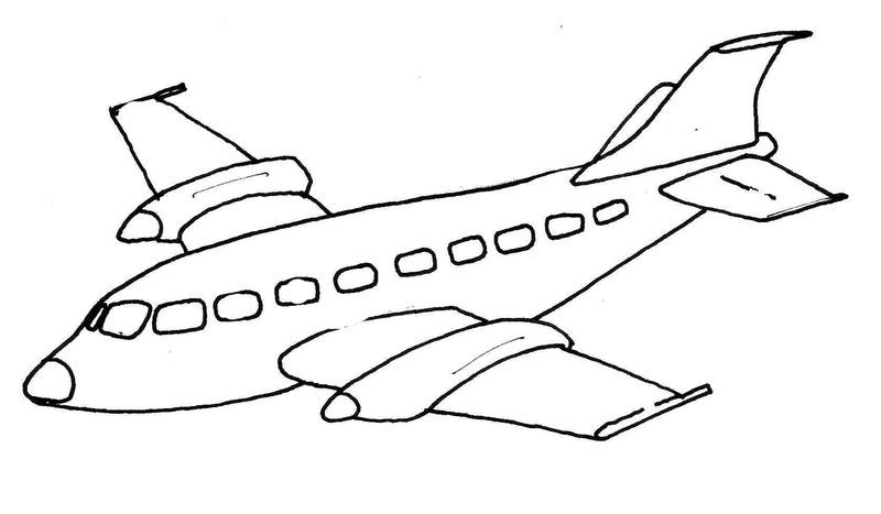 Avion dessin recherche google pout avion en 2018 - Coloriage d avion ...