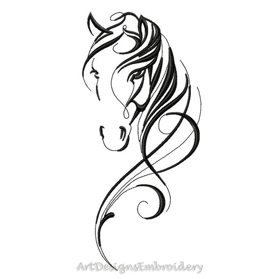 Horse embroidery, design horse, horse designs, horse art design, horse pattern, head of horse, embroidery horse, machine embroidery horse #horsepattern