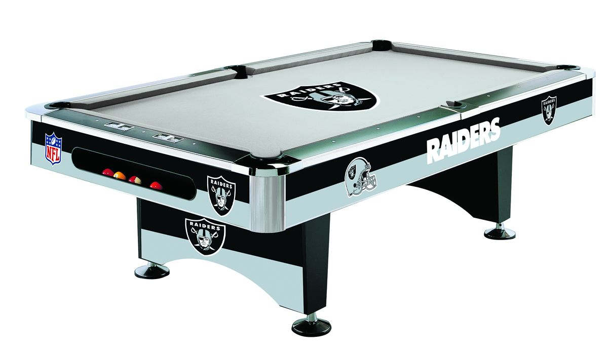 Oakland Raiders Pool Table Nfl Billiard Tables Oakland Raiders