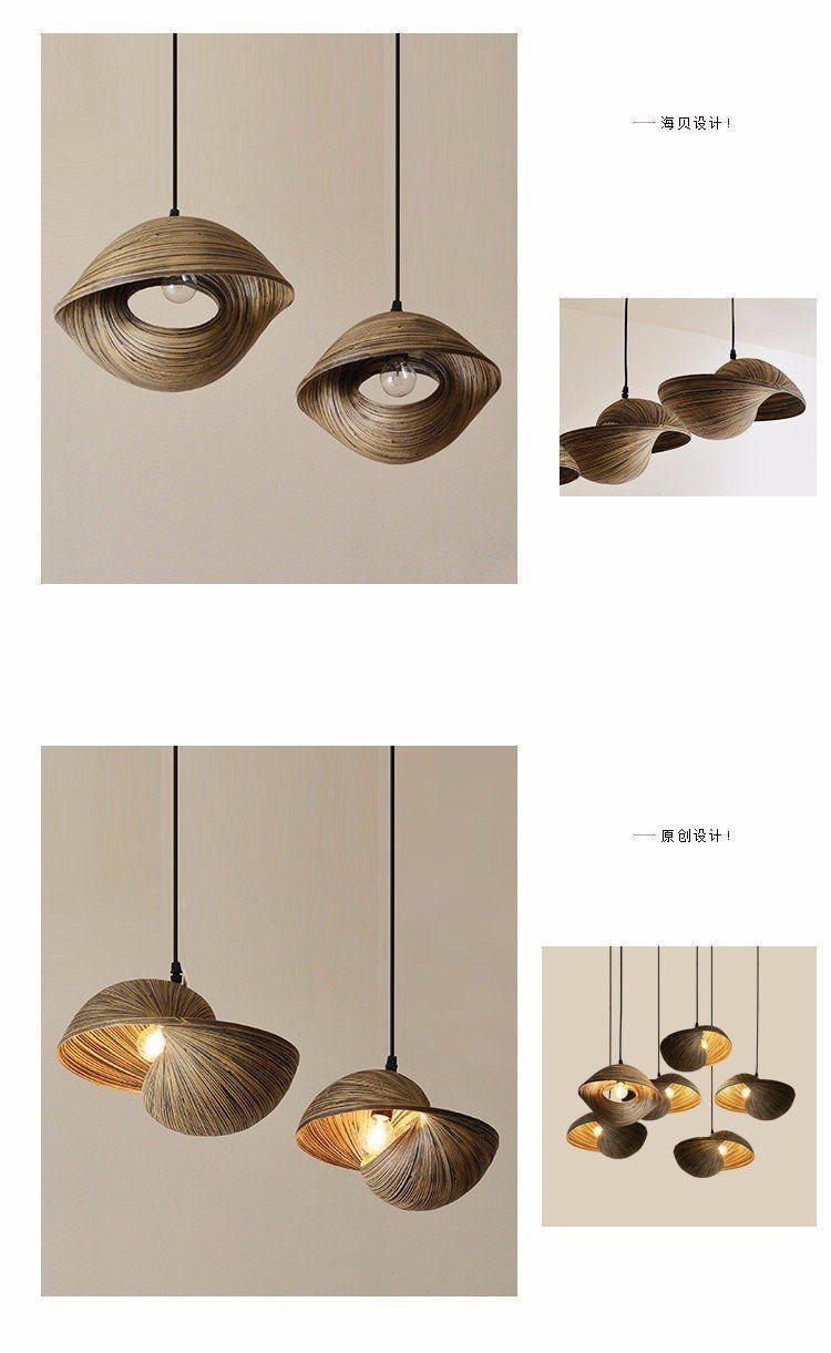 Asian modern chandelier