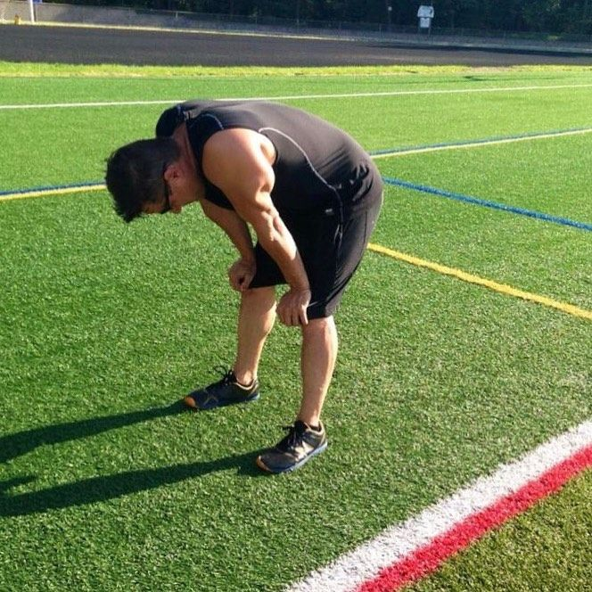 This is how you should be after an outdoor hiit workout #training #metabolicconditioning #...