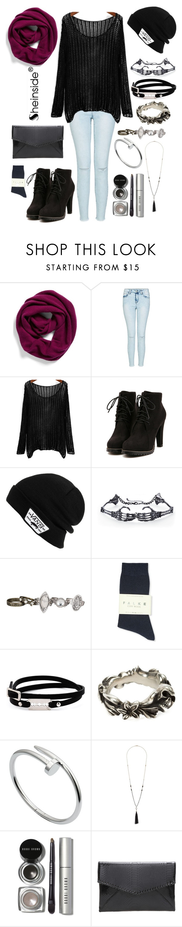 """#111"" by firestars ❤ liked on Polyvore featuring Halogen, Vans, maurices, Falke, McQ by Alexander McQueen, Werkstatt:München, Cartier, Wallis, Bobbi Brown Cosmetics and Sheinside"