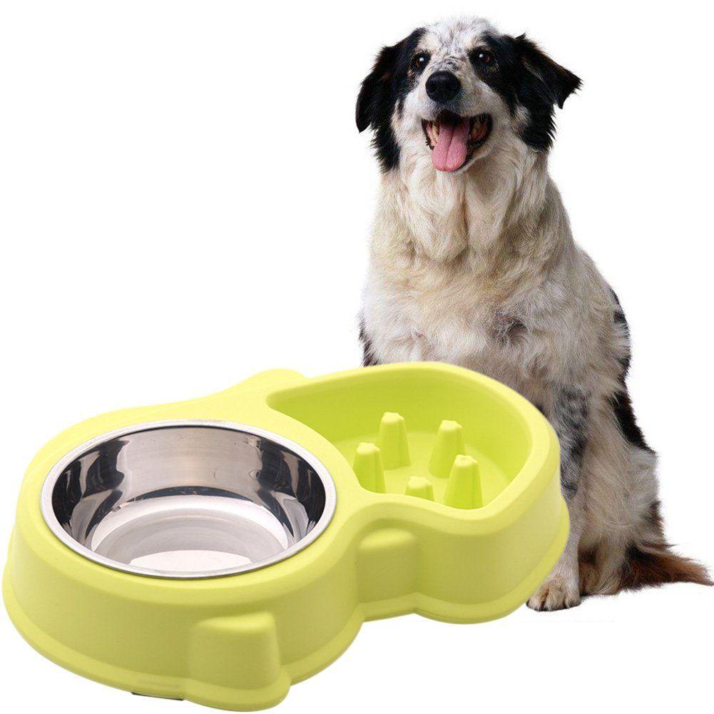 Kayi Pet Slow Feeder Tray Non Skid Puzzle Dog Bowl Antichoking